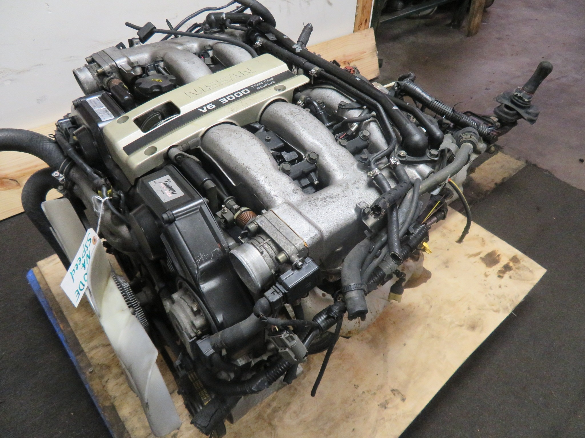 90-96 JDM NISSAN 300ZX VG30DE NON TURBO 3.0L V6 ENGINE & 5 SPEED TRANSMISSION