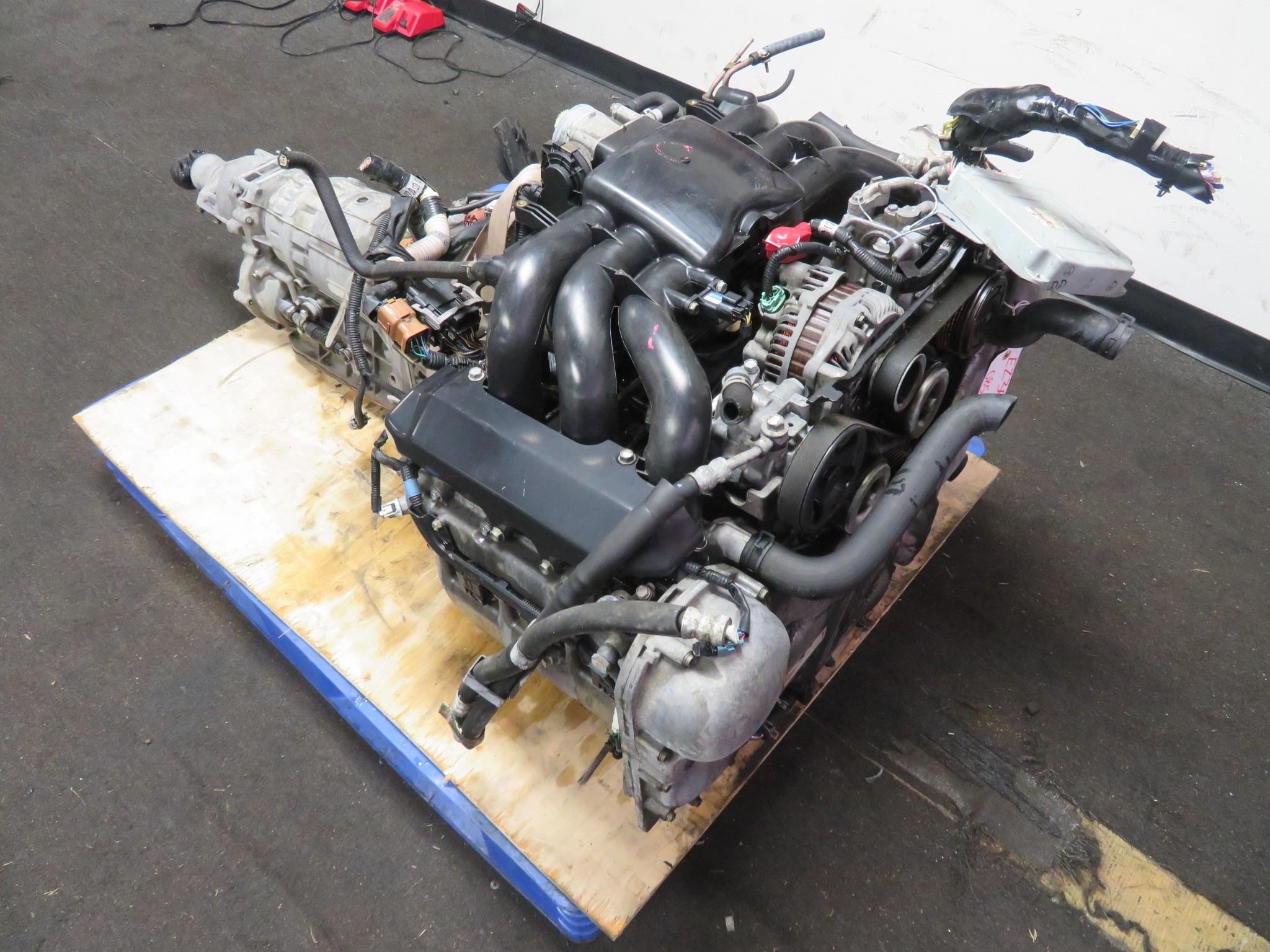 03-09 JDM SUBARU TRIBECA LANCASTER OUTBACK EZ30 3.0L H6 ENGINE & AUTOMATIC TRANSMISSION