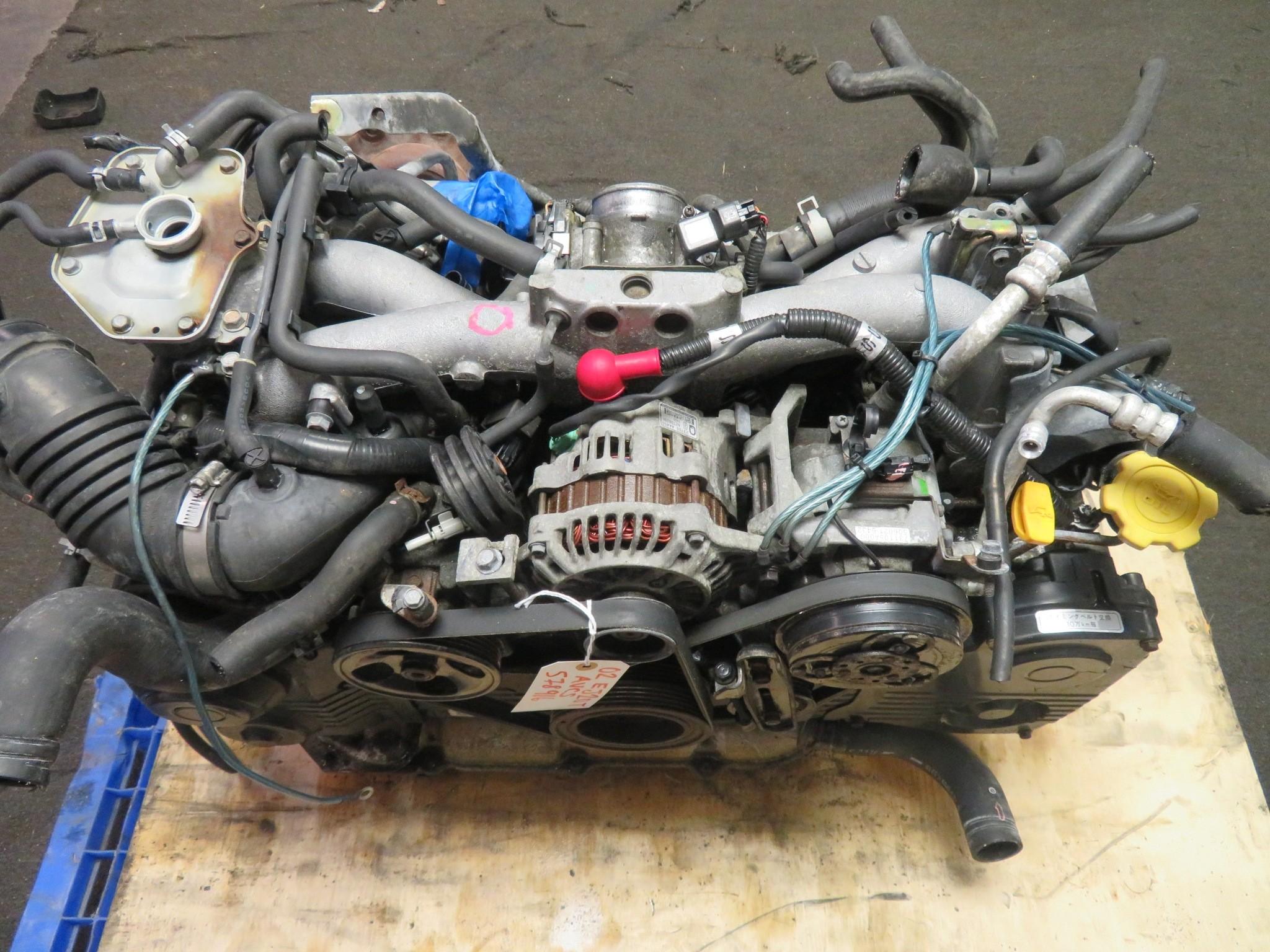 01-06 JDM SUBARU WRX FORESTER LEGACY EJ20 2.0L TURBO ENGINE AVCS