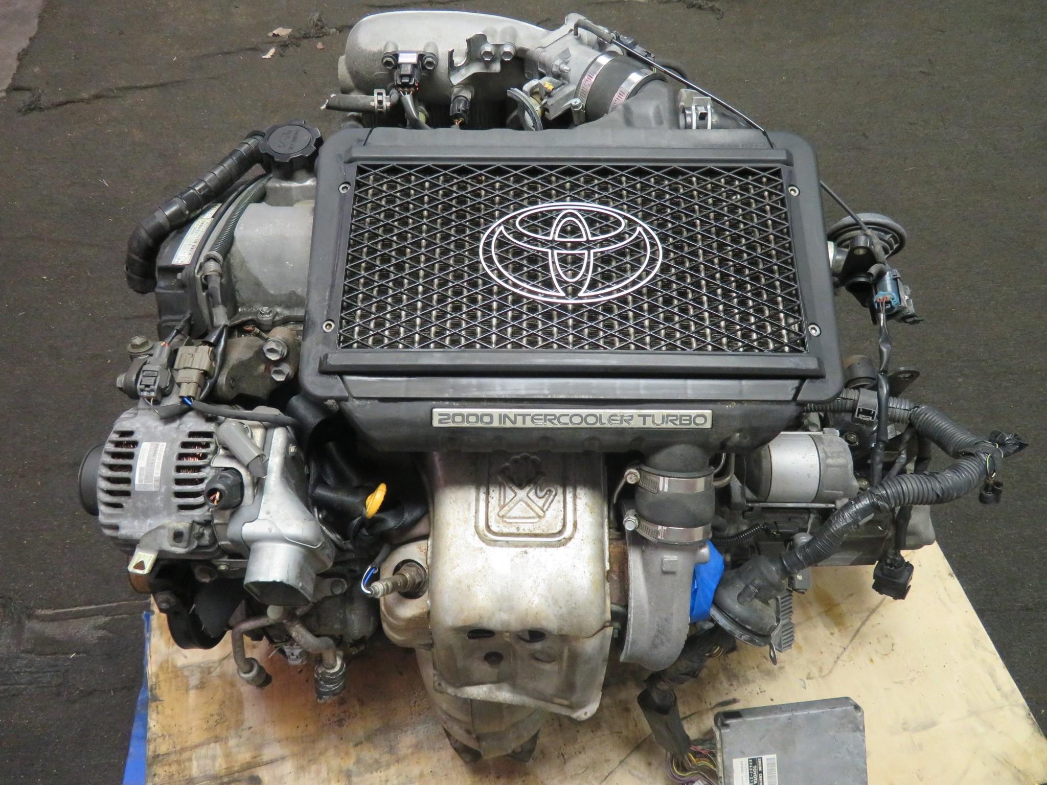 98-03 JDM TOYOTA CALDINA ST215 3SGTE 2.0L TURBO ENGINE, 5 SPEED AWD TRANSMISSION, WIRING HARNESS, ECU