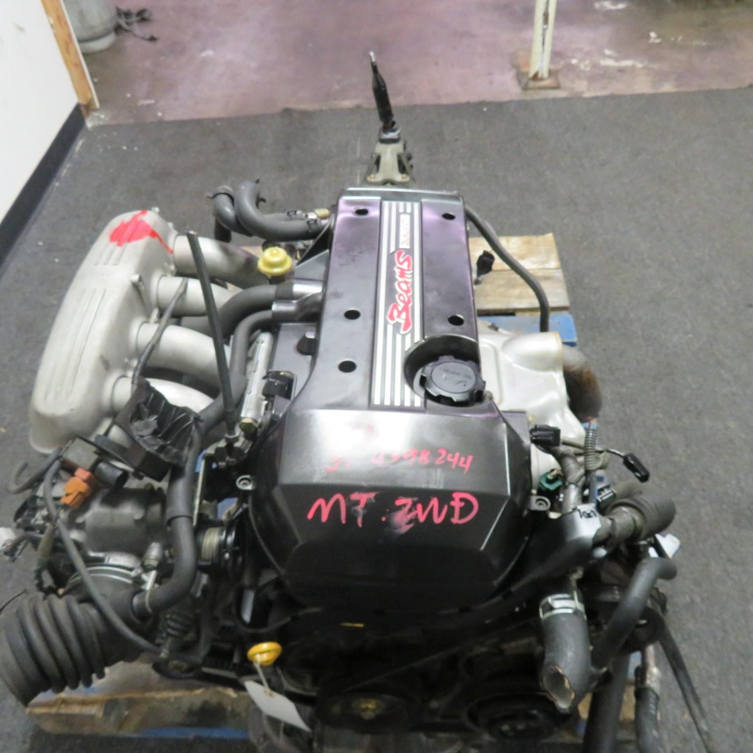 JDM TOYOTA ALTEZZA LEXUS IS300 3SGE BEAMS DUAL VVTi 2.0L ENGINE, 6 SPEED TRANSMISSION, WIRING, ECU