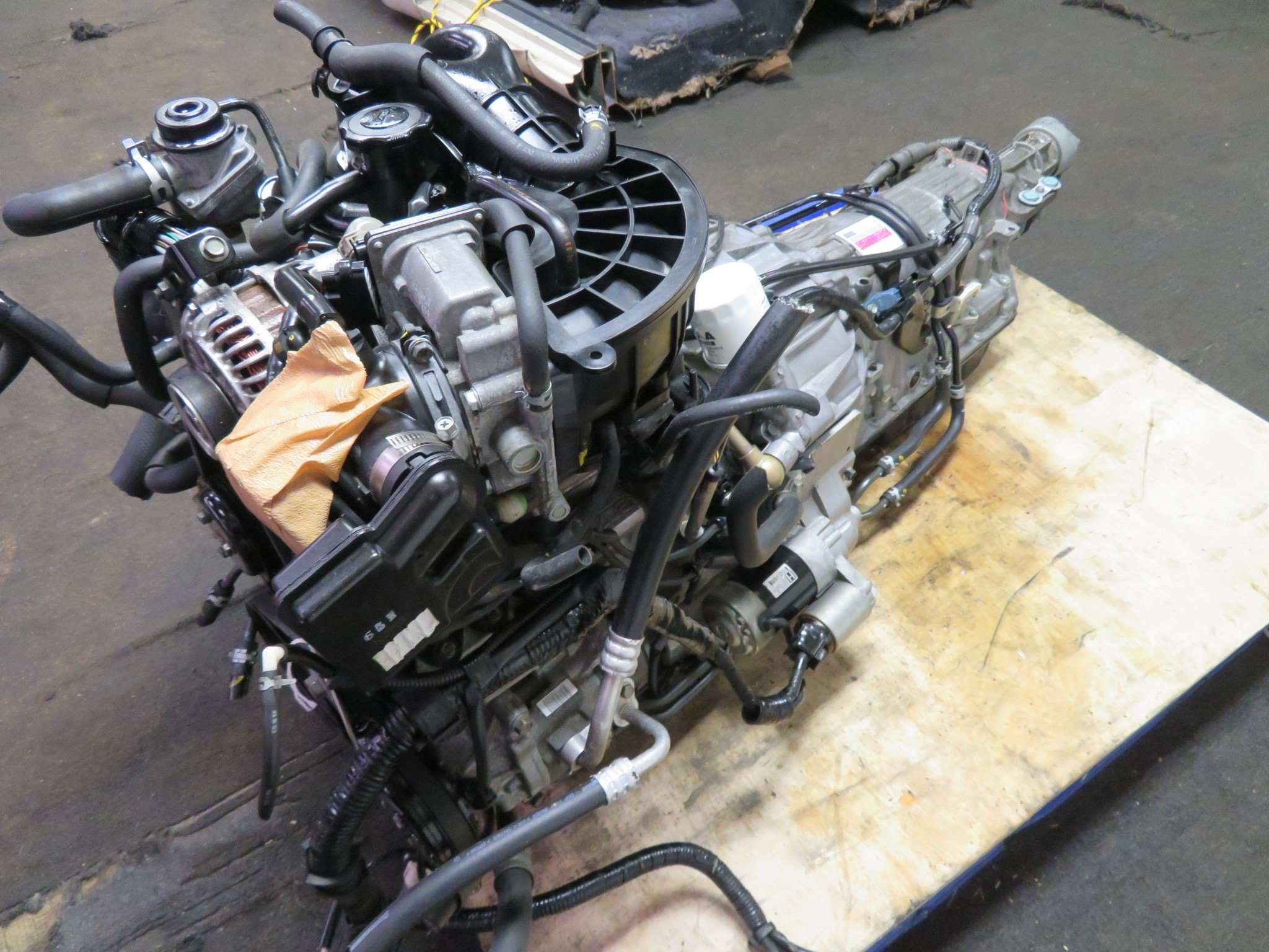 03-08 JDM MAZDA RX8 13B ROTARY 4 PORT ENGINE, AUTOMATIC TRANSMISSION, WIRING HARNESS, ECU