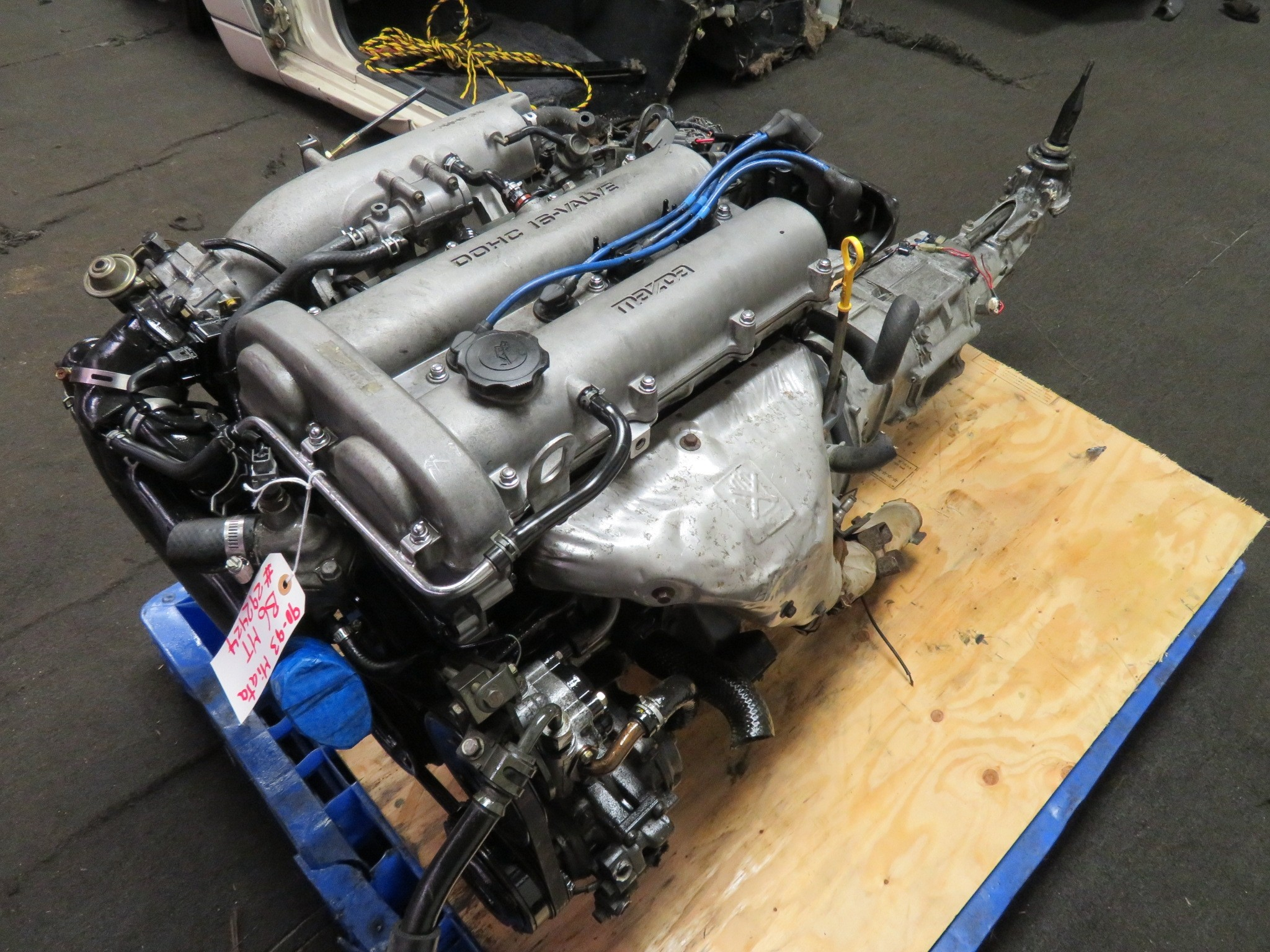 90-93 JDM MAZDA MIATA B6 1.6L DOHC ENGINE & 5 SPEED TRANSMISSION