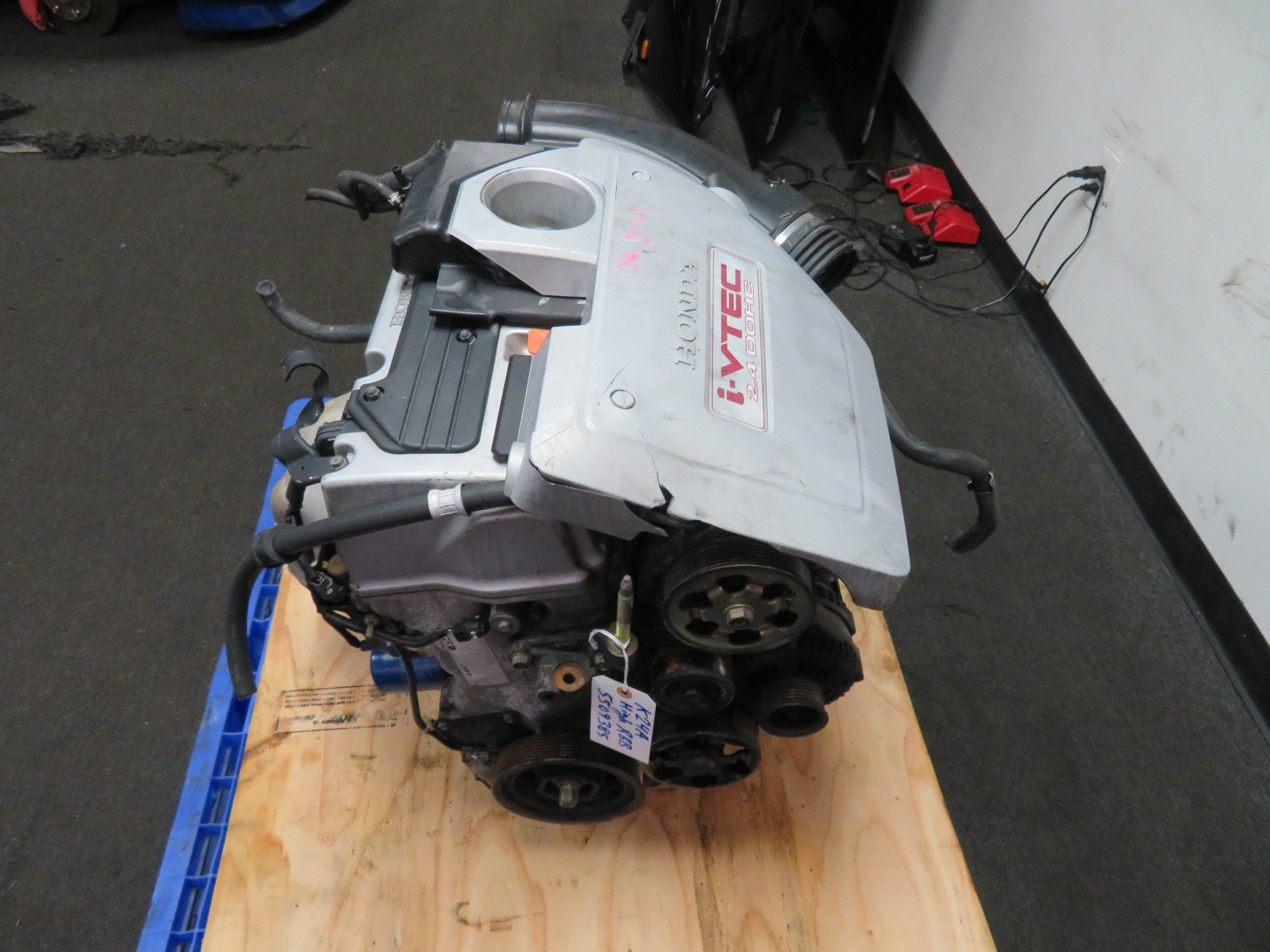 JDM HONDA ACURA TSX K24A 2.4L iVTEC ENGINE, HIGH COMPRESSION RBB HEAD