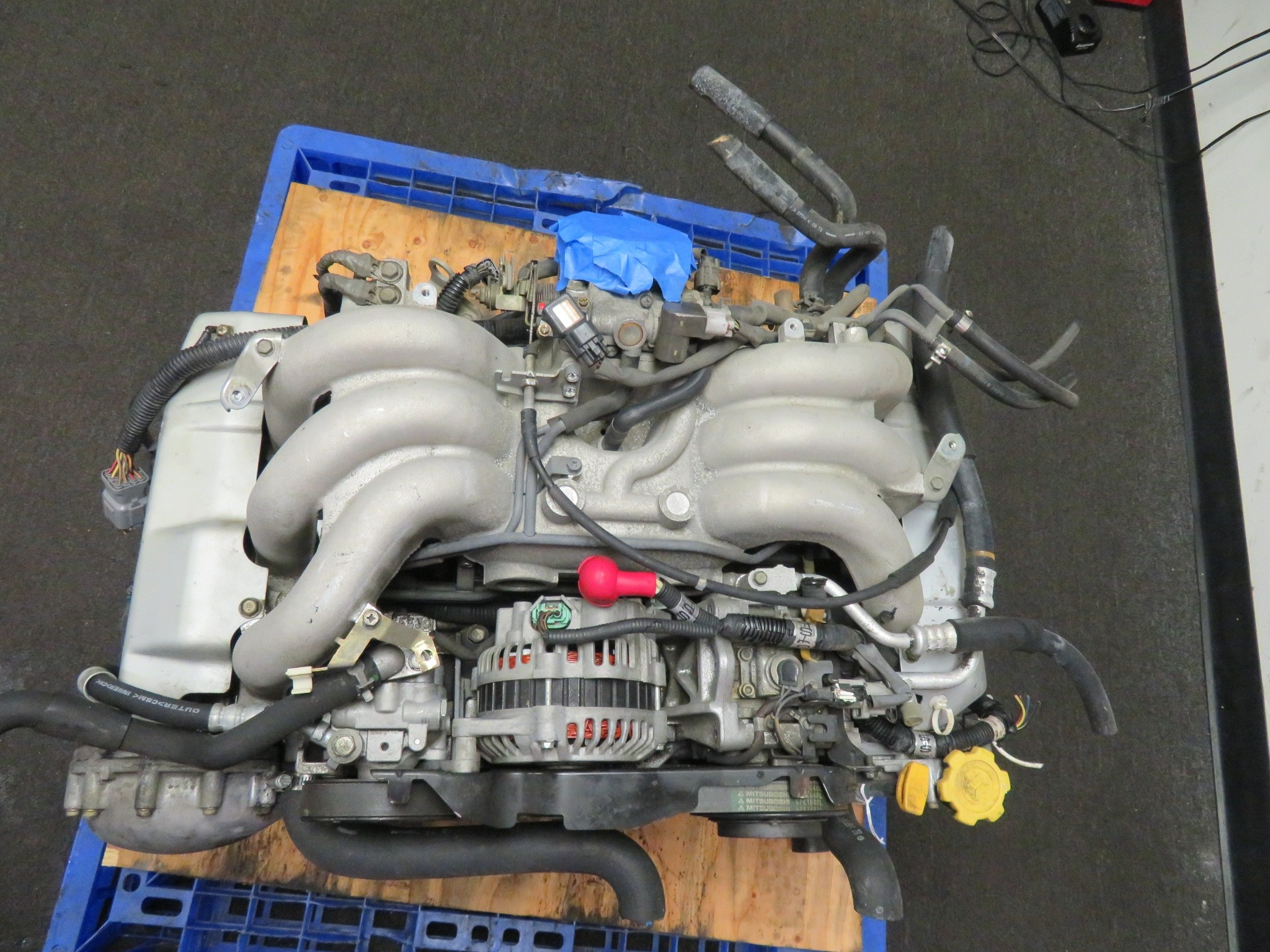 2000-2002 SUBARU EZ30 3.0L H6 6 CYLINDER ENGINE, OUTBACK LEGACY TRIBECA