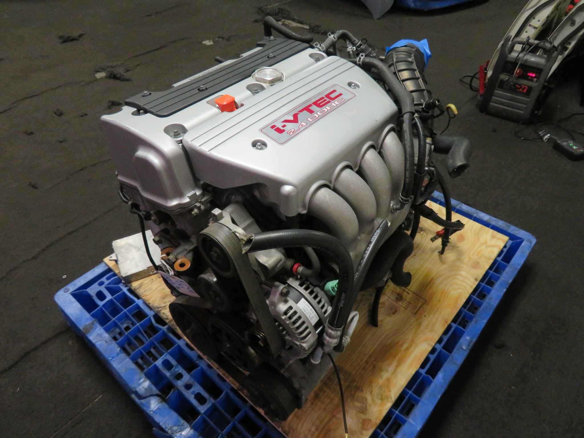 JDM HONDA ACURA TSX CL7 K24A 2.4L iVTEC ENGINE, HIGH COMPRESSION RBB HEAD