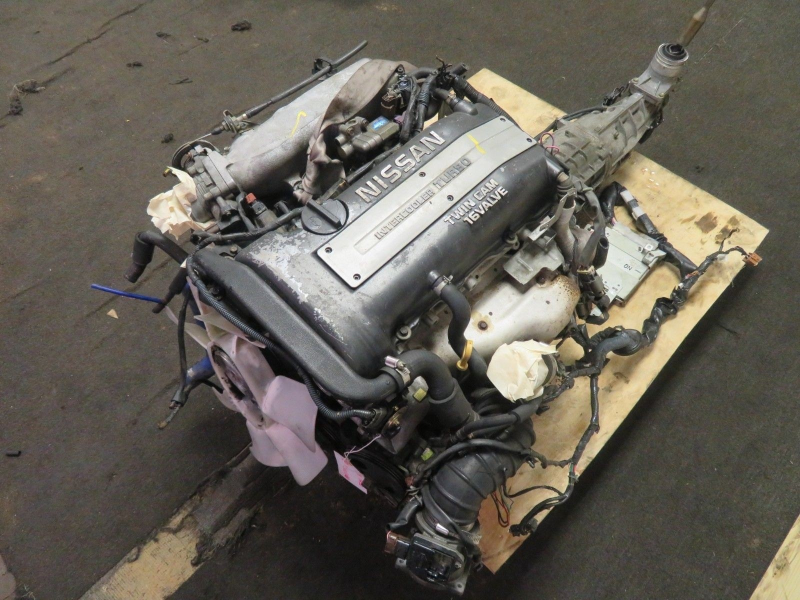 98-02 JDM NISSAN SILVIA S15 SR20DET 2.0L TURBO ENGINE, 6 SPEED TRANSMISSION, WIRING, ECU