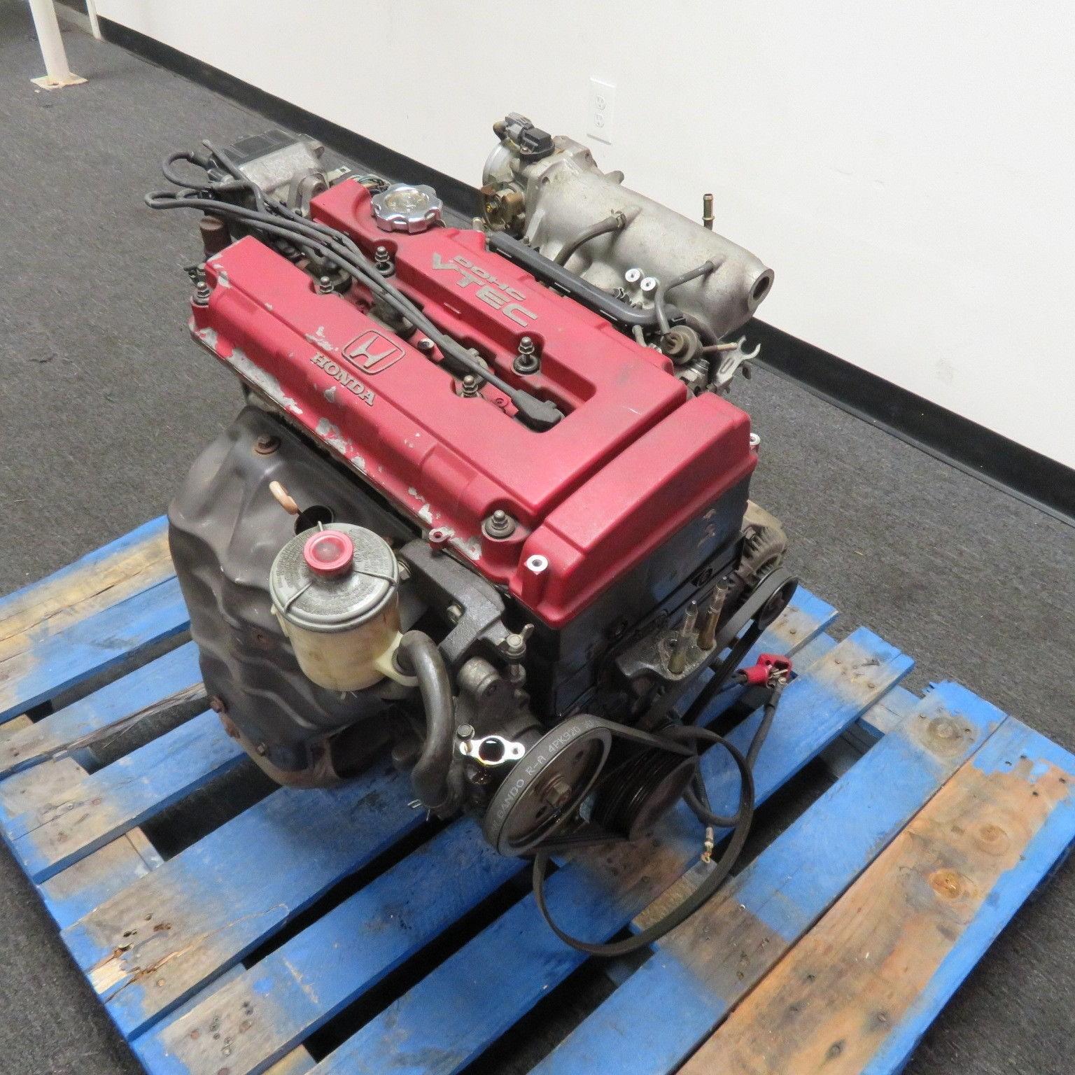 96-97 JDM DC2 INTEGRA TYPE R B18C 1.8L DOHC VTEC ENGINE