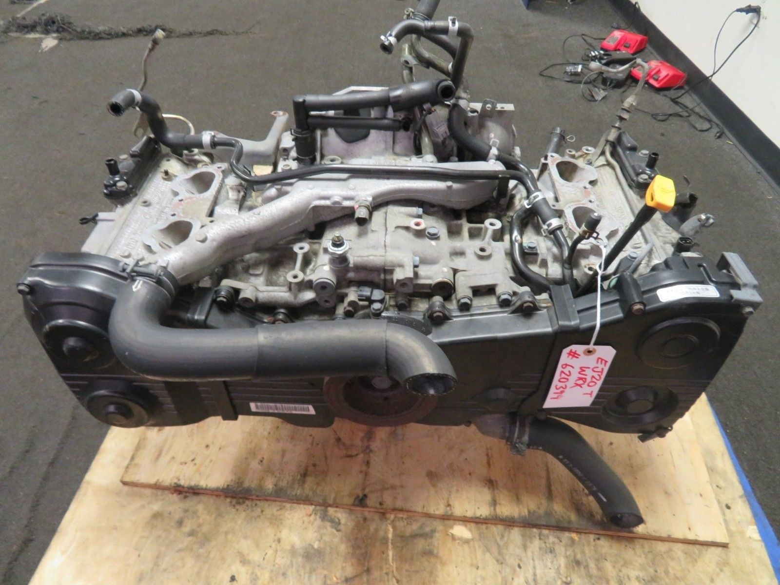 02-05 Subaru WRX EJ20 2.0L Turbo Long Block Engine