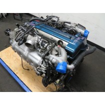 JDM TOYOTA SUPRA ARISTO 2JZGTE VVTi TWIN TURBO ENGINE, AUTOMATIC TRANSMISSION, WIRING HARNESS, ECU