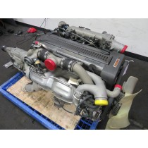 JDM TOYOTA 1JZGTE TWIN TURBO ENGINE, AUTO TRANS, WIRING, ECU, REAR SUMP