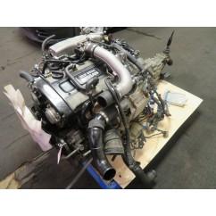 JDM R33 NISSAN SKYLINE RB25DET 2.5L TURBO ENGINE, 5 SPEED TRANSMISSION, WIRING, ECU