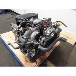 00-05 JDM SUBARU IMPREZA LEGACY FORESTER EJ25 2.5L SOHC ENGINE & AUTOMATIC AWD TRANSMISSION
