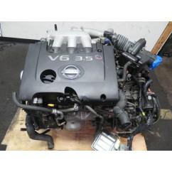 03-07 JDM NISSAN MURANO VQ35DE 3.5L V6 ENGINE & AUTOMATIC AWD TRANSMISSION