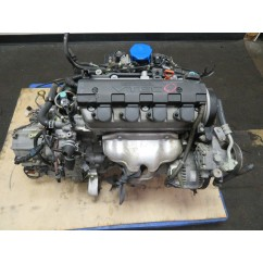 01-05 JDM HONDA CIVIC D17A 1.7L VTEC ENGINE & AUTOMATIC TRANSMISSION
