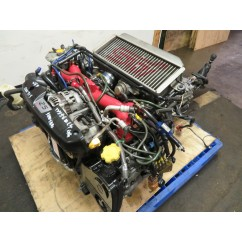 01-06 JDM SG9 SUBARU FORESTER STI EJ25 2.5L TURBO ENGINE, 6 SPEED TRANSMISSION, ECU