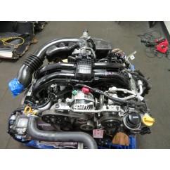 2011-2016 JDM SUBARU IMPREZA CROSSTREK FORESTER FB25 2.5L DOHC ENGINE & AUTOMATIC CVT TRANSMISSION