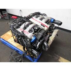 90-96 JDM NISSAN 300ZX TWIN TURBO VG30DETT 3.0L V6 ENGINE, AUTOMATIC TRANSMISSION, WIRING HARNESS & ECU