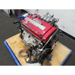 96-00 JDM HONDA B18C GSR 1.8L DOHC VTEC ENGINE, 5 SPEED TRANS, WIRING, ECU