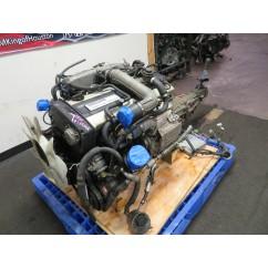 JDM R32 NISSAN SKYLINE RB20DET TURBO ENGINE, 5 SPEED TRANS, WIRING, ECU
