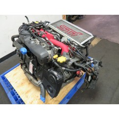01-03 JDM SUBARU WRX STI VERSION 7 EJ20 2.0L TURBO ENGINE, INTERCOOLER, ECU
