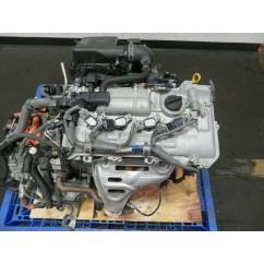 2011-2015 TOYOTA PRIUS 2ZR-FXE 1.8L HYBRID ENGINE 2011-2017 LEXUS CT200H MOTOR
